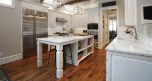 Kitchen layout, SubZero Refrigerator, Freezer