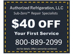 Coupon, Sub-Zero Repair, NJ or NY or CT, service discount